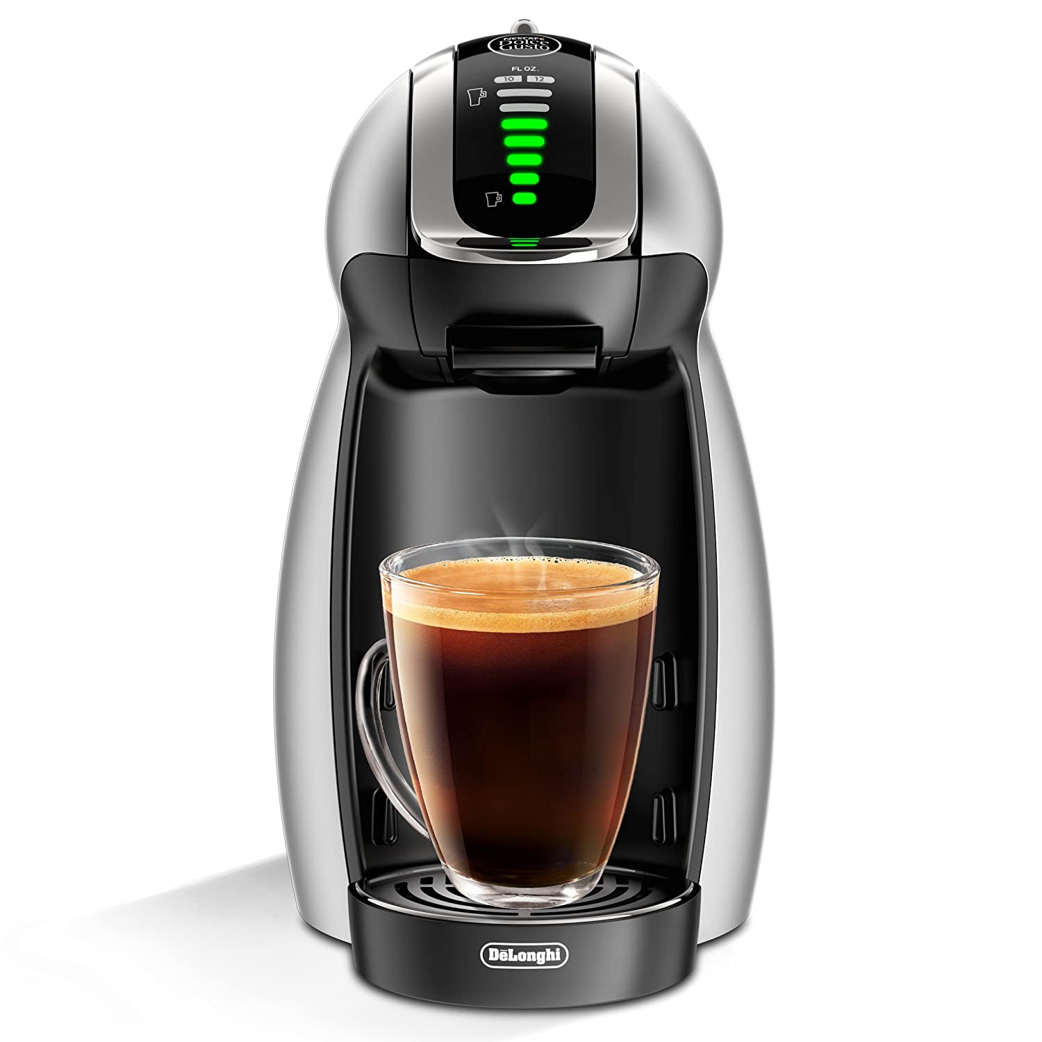 NESCAFÉ Dolce Gusto Genio 2 Coffee, Espresso and Cappuccino Pod Machine, made by De'Longhi America EDG466S
