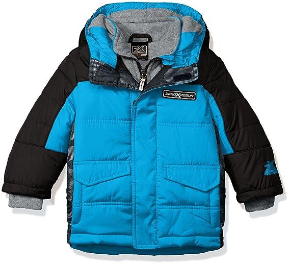 8cd6728b2 ZeroXposur Boys' Warren Puffy Jacket