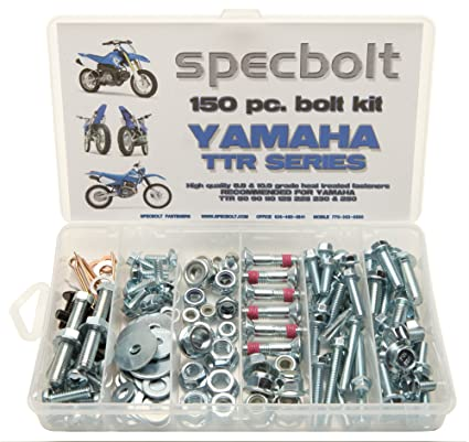 150pc Specbolt Yamaha TTR Bolt Kit for Maintenance Restoration OEM ...