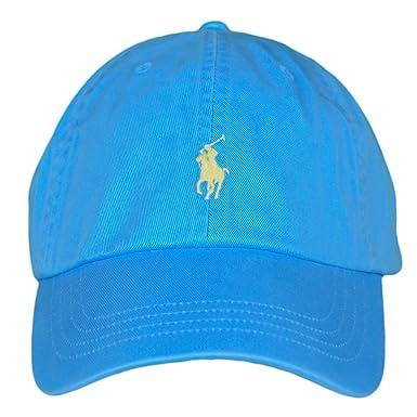 Ralph Lauren Casquette Bonnet - Casquette Turquoise  Amazon.fr ... faf11eb0585