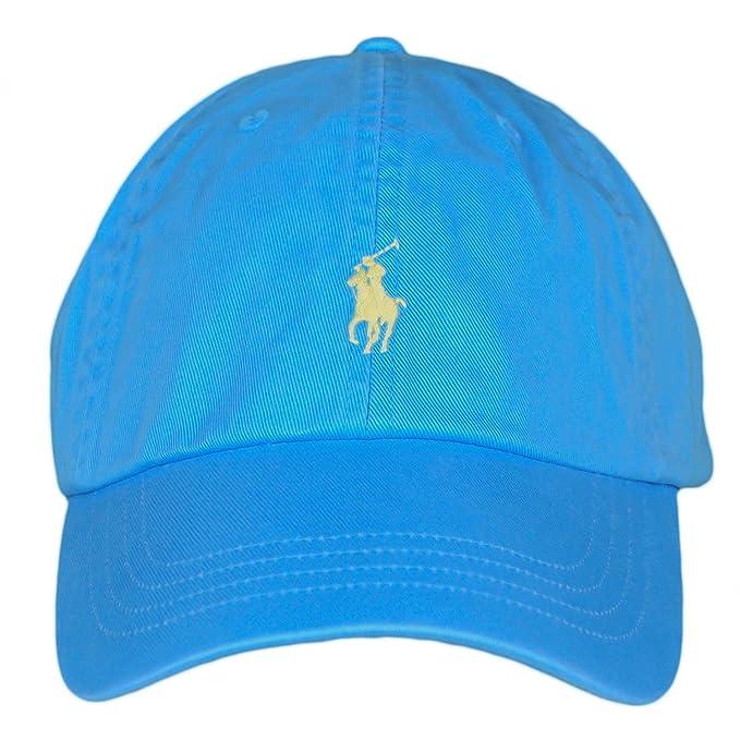 Ralph Lauren - Gorra de béisbol - Blusa - para Hombre Azul Talla única: Amazon.es: Ropa y accesorios