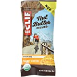 CLIF Nut Butter Filled - Organic Energy Bar - Peanut Butter - (1.76 Ounce Protein Snack Bar, 4 count)