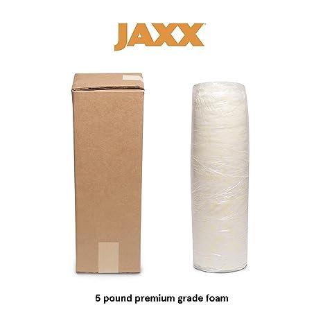 Amazon.com: Jaxx triturada relleno de espuma, Poliuretano ...