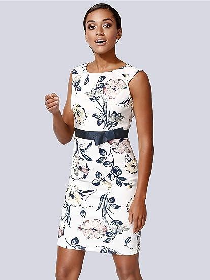 Alba Moda Damen Kleid in femininer Form Hautfreundlich 38