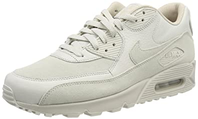 NIKE Air Max 90 Premium, Chaussures de Running Compétition Homme, Multicolore (Light Bone