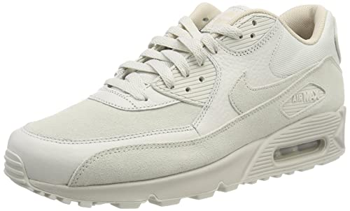 superior quality cbbdb 30395 Nike Air MAX 90 Premium, Zapatillas para Hombre, Blanco (Light Bone String  013), 40.5 EU  Amazon.es  Zapatos y complementos