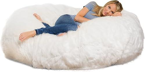 Comfy Sacks 6 ft Lounger Memory Foam Bean Bag Chair