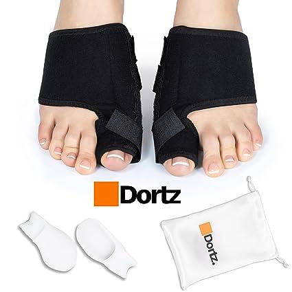 DORTZ - Corrector ortopédico para juanetes, férula para Alivio de juanetes, Protector de juanetes
