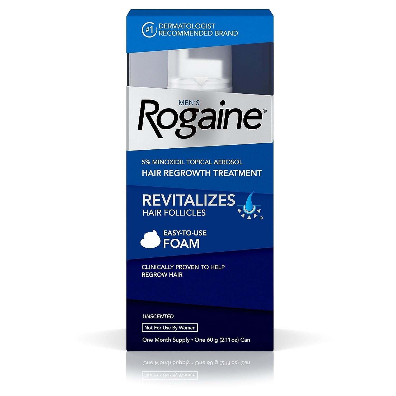 Men's Rogaine Foam One Month Supply