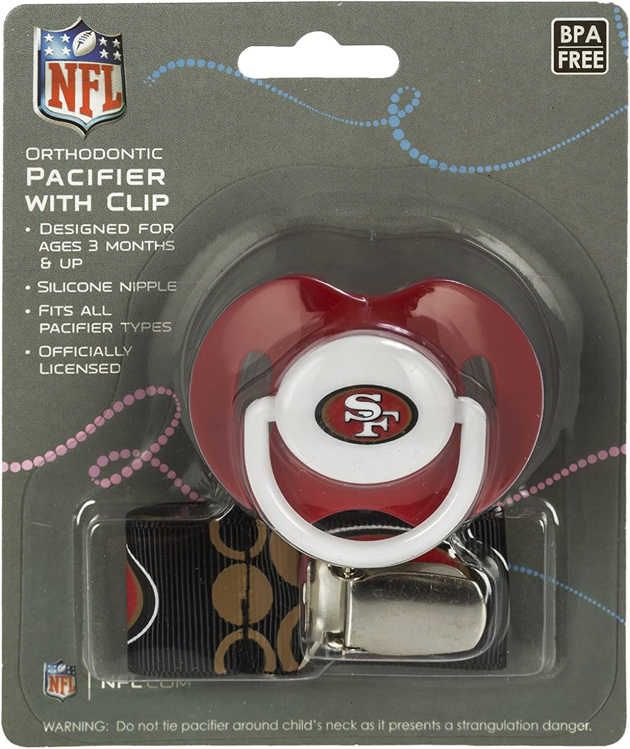 Pick Team NFL Football 2014 Baby Infant Pacifier 2-Pack