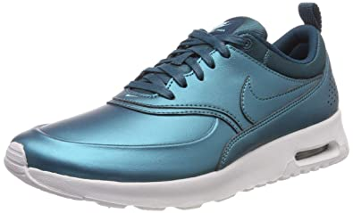 Nike Women's W AIR MAX THEA SE, Metallic Dark SeaMetallic