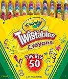 Crayola 50ct Mini Twistables Crayons
