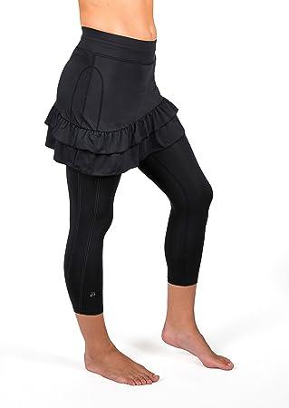 Skirt Sports Falda Deportiva de Las Mujeres Vixen Capri Falda ...