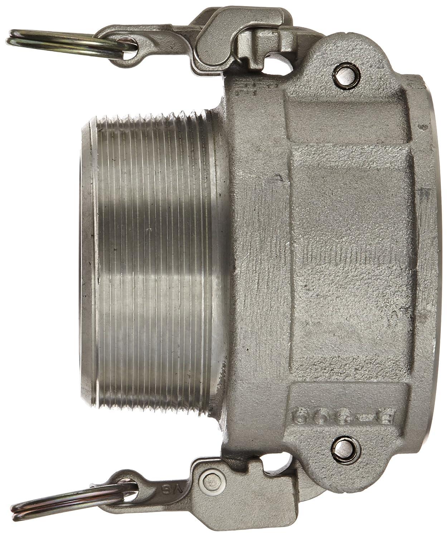 Dixon AB150EZ Aluminum 356T6 EZ Boss-Lock Type B Cam and Groove Hose Fitting 1-1//2 Socket x 1-1//2 NPT Male