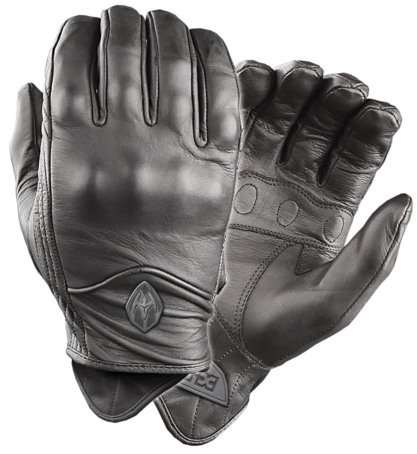 Damascus ATX95 All-Leather Gloves with Knuckle Armor, Large