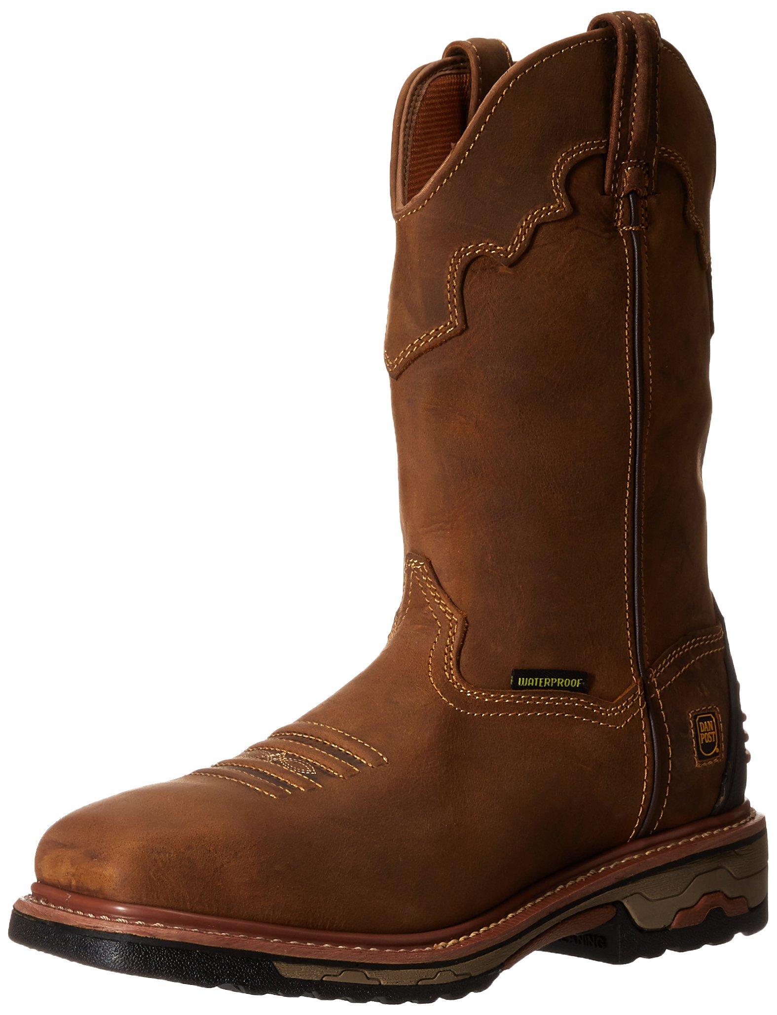 Dan Post Men's Blayde Steel Toe Work Boot, Saddle