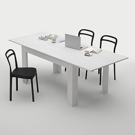 Mobilifiver, Tavolo Cucina Allungabile fino a 220 cm Easy, Bianco ...