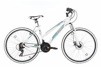 Bikesport AURA Bicicleta para mujer, Rueda: 26 pulgadas para mujer Aluminio cuadro 18 velocidades Shimano: Amazon.es: Deportes y aire libre