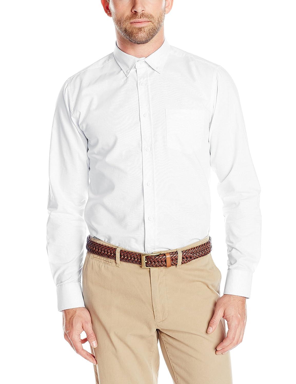 Izod Uniform Men's Long-Sleeve Oxford Shirt Z971000P