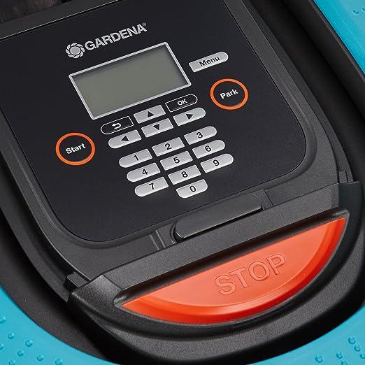 Gardena 04054-24 - Robot cortacésped Sileno Plus, Azul, 30 x ...