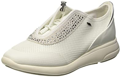 Geox Ophira E, Sneakers Basses Femme, (C1209), 35 EU