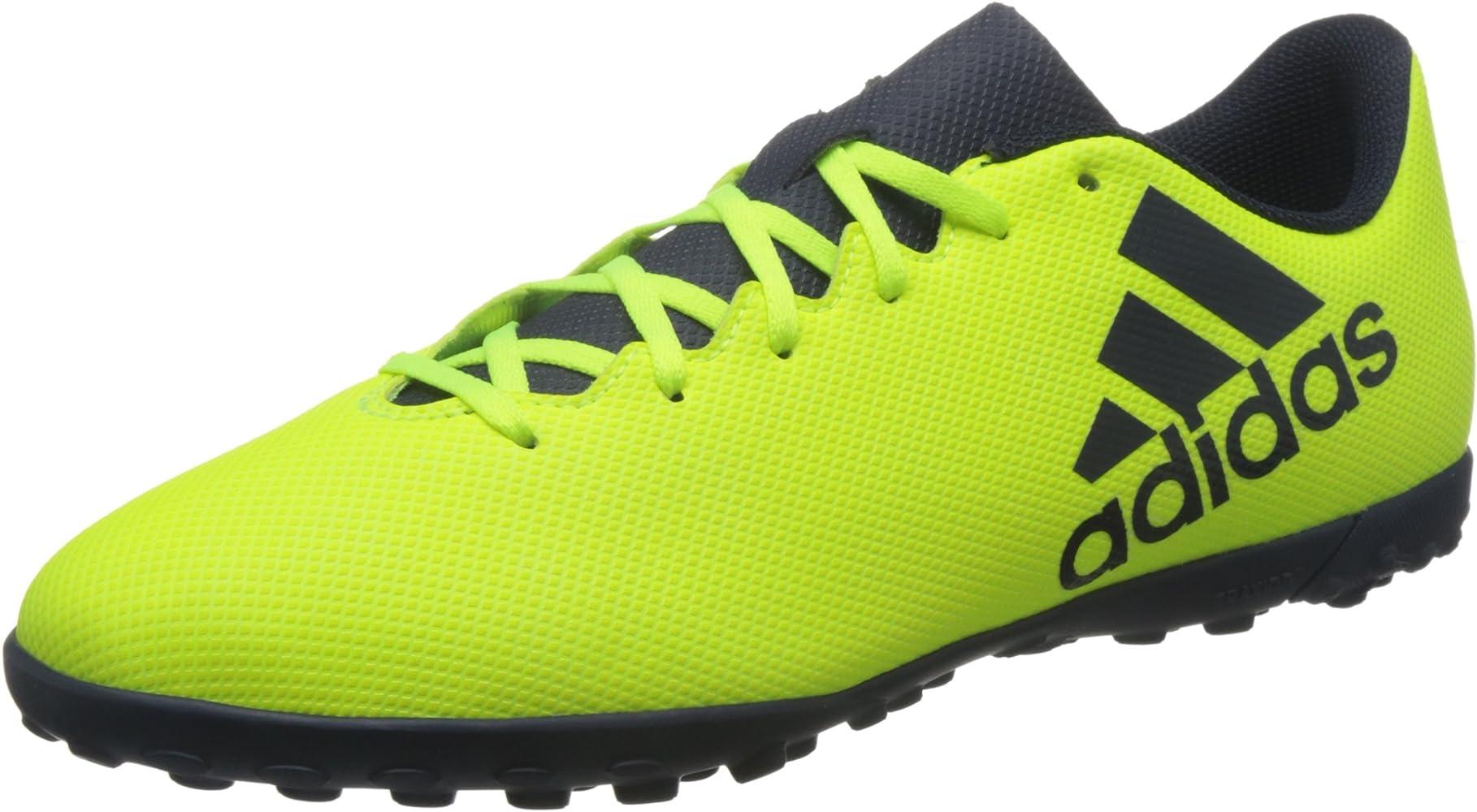 Hecho para recordar escucho música información  Amazon.com | adidas Performance Mens X 17.4 Turf Training Soccer Football  Boots - 7.5 US Yellow | Shoes