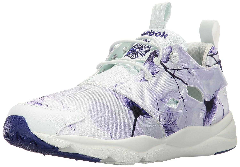 Reebok Womens Furylite Graphic Fashion Sneaker