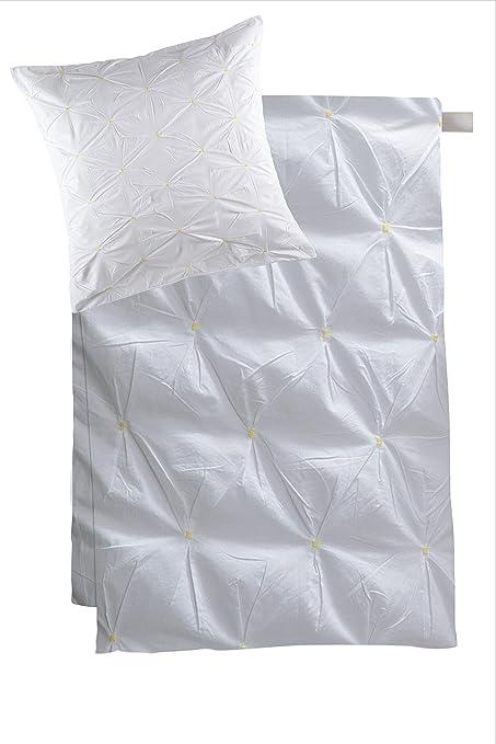 Kas 23032 Stitch Duvet Set 135 X 200 Cm Amazon Co Uk Kitchen Home