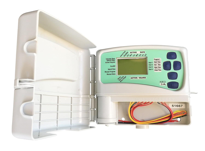 Irrigation Timer Controller for 12V Latching Valves