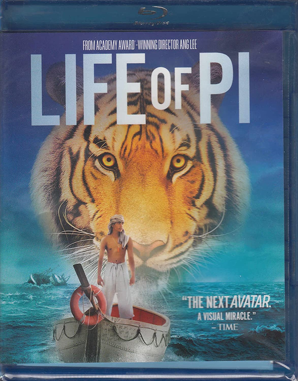 Amazon Com Life Of Pi Blu Ray 2012 Ang Lee Suraj Sharma Movies Tv