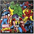 Official Marvel Comics 2021 Wall Calendar 11.8 x 11.8 inches (12 Months - Free Poster Included) Family Planner Calendar 2021, CP21024