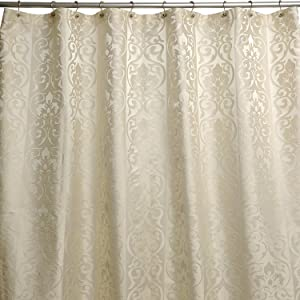 Famous Home Fashions Furla Shower Curtain, Cream