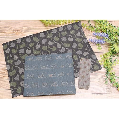 山陽製紙 おとなの梅炭再生紙ブックカバー