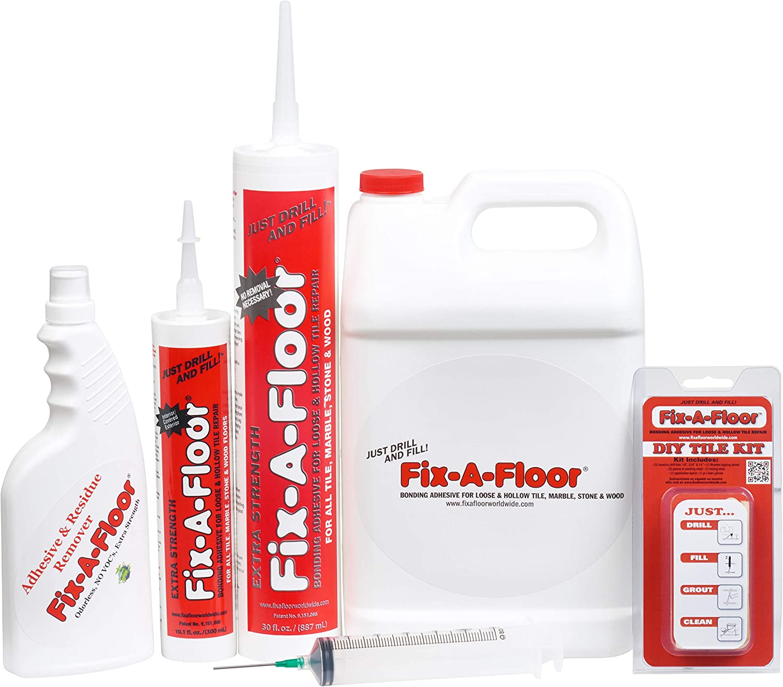 Fix-a-floor adhesivo para suelos problematicos para reparar y rellenar huecos de suelos de baldosa: Amazon.es: Bricolaje y herramientas