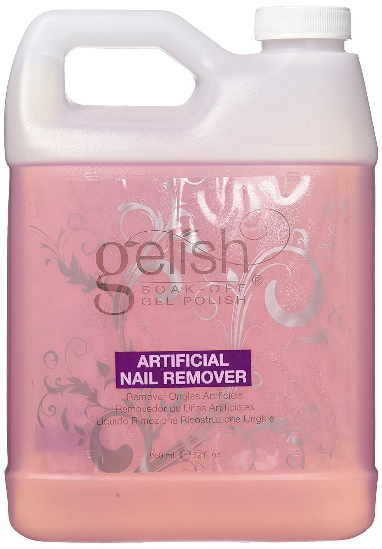 Amazon.com : Gelish Artificial Nail Remover, 32 Ounce : Nail Polish ...