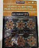 Kirkland Signature Hearing Aid Batteries 48 Pack (Size 312)