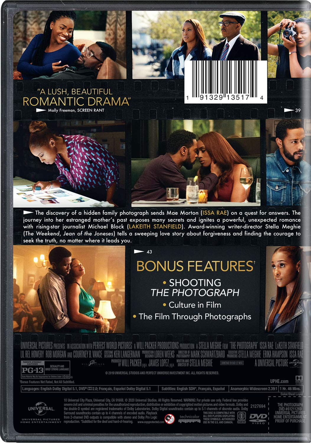 Amazon.com: The Photograph: Issa Rae, LaKeith Stanfield, Lil Rel Howery,  Rob Morgan, Courtney B. Vance, Stella Meghie, Will Packer, James Lopez,  Stella Meghie: Movies & TV