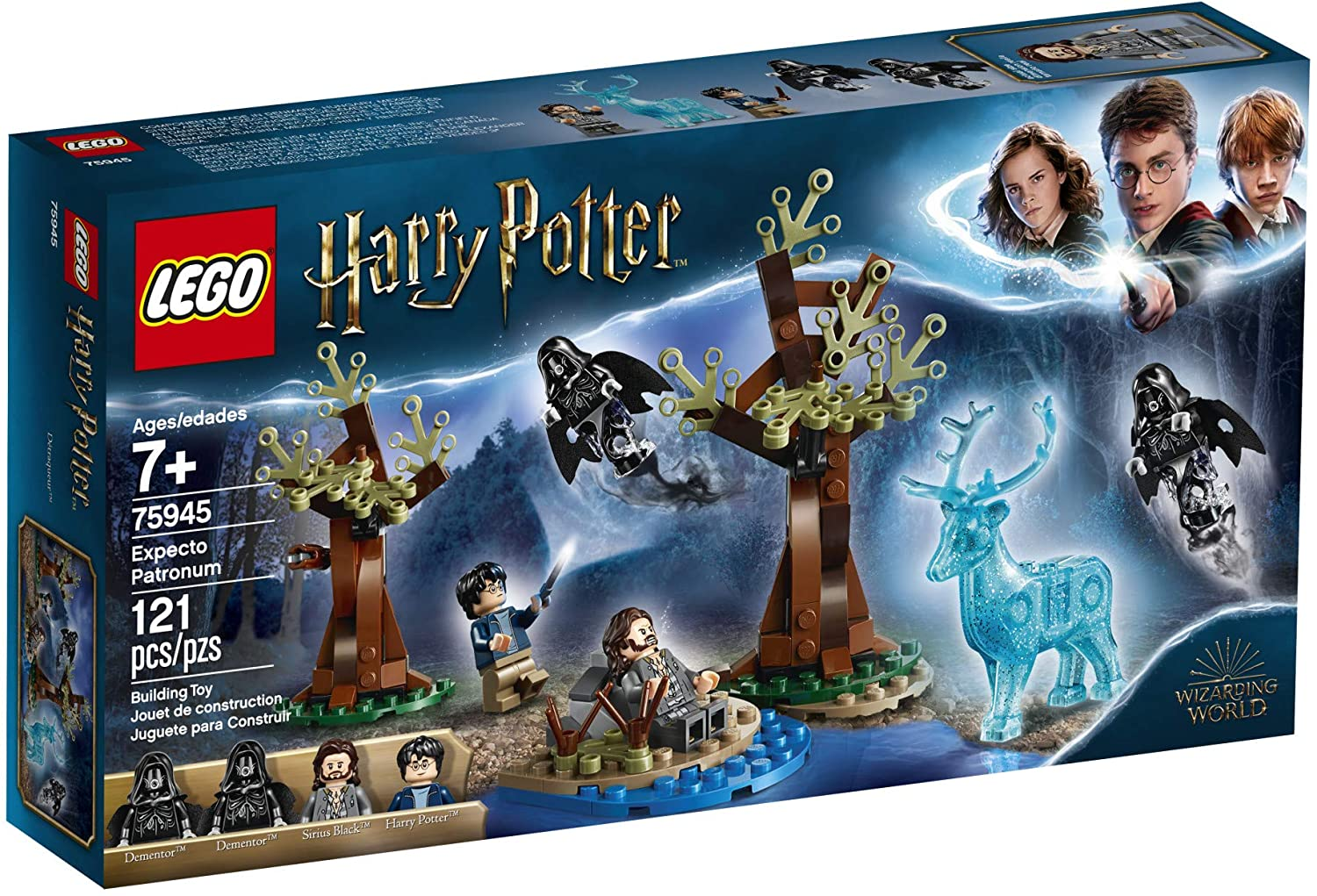New 2019 LEGO Harry Potter and The Prisoner of Azkaban Expecto Patronum 75945 Building Kit 121 Pieces