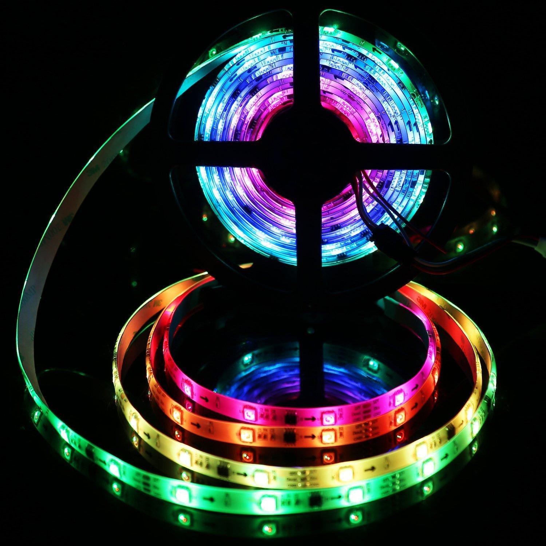 guaiboshi LED Strip Lights, WS2811 3m 5050 RGB Waterproof Magic Dream Light Flexible LED Tape Lighting for TV Backlight Home Christmas Decoration