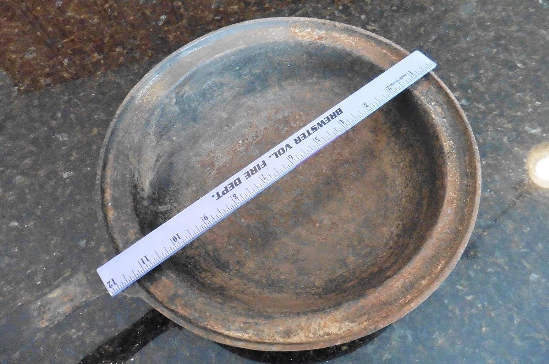 Vintage Hierro fundido pot redondeadas - Sartén para fogón (Footed de fusión de fundición cacerola?: Amazon.es: Hogar
