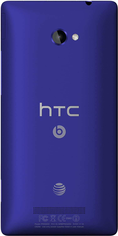 HTC Windows Phone 8X, Blue 16GB (AT&T)