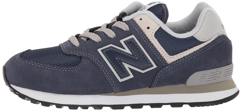 New Balance Unisex-Kinder Unisex-Kinder Unisex-Kinder 574v2 Sneaker Navy/Grau b1e9b2