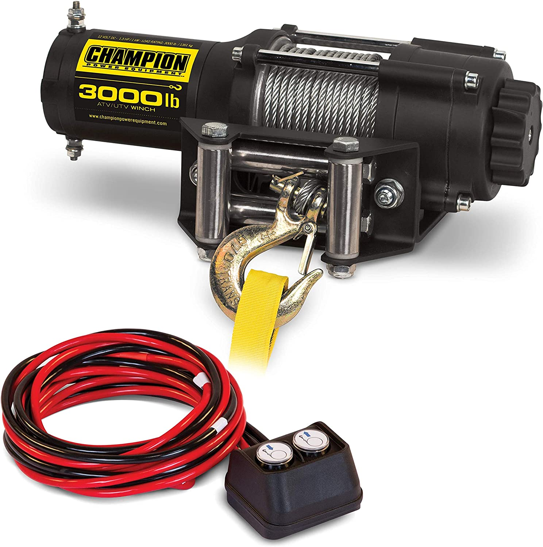 honda 2000 atv winch wiring diagram amazon com champion 3000 lb atv utv winch kit automotive  champion 3000 lb atv utv winch kit