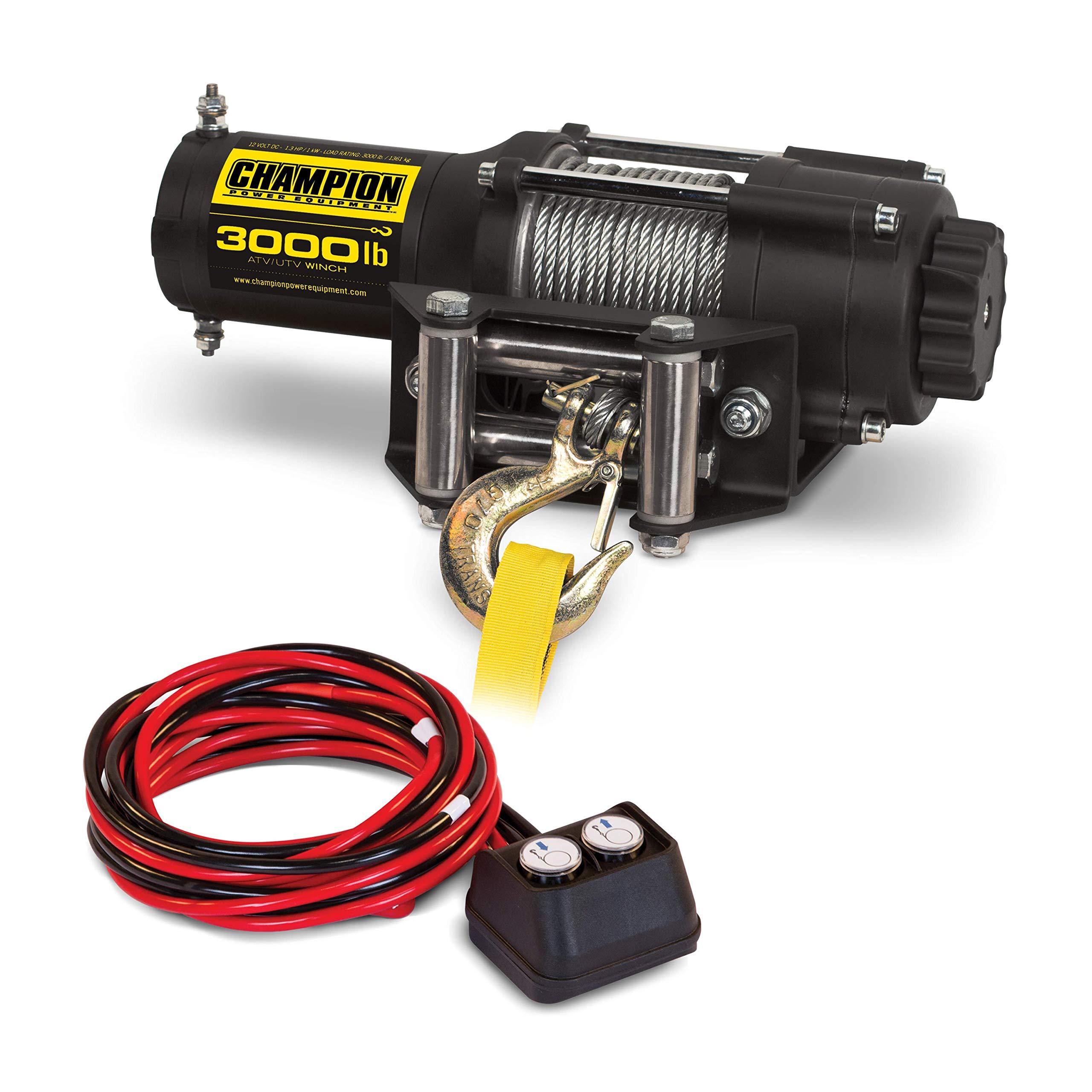 Champion 3000-lb. ATV/UTV Winch Kit by Champion Power Equipment