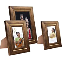 Solimo Collage Photo Frames, Set of 3, Tabletop (2 pcs - 4x6 inch, 1 pc - 6x8 inch)