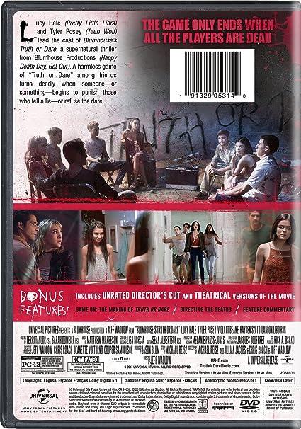 Amazon com: Blumhouse's Truth Or Dare: Lucy Hale, Tyler