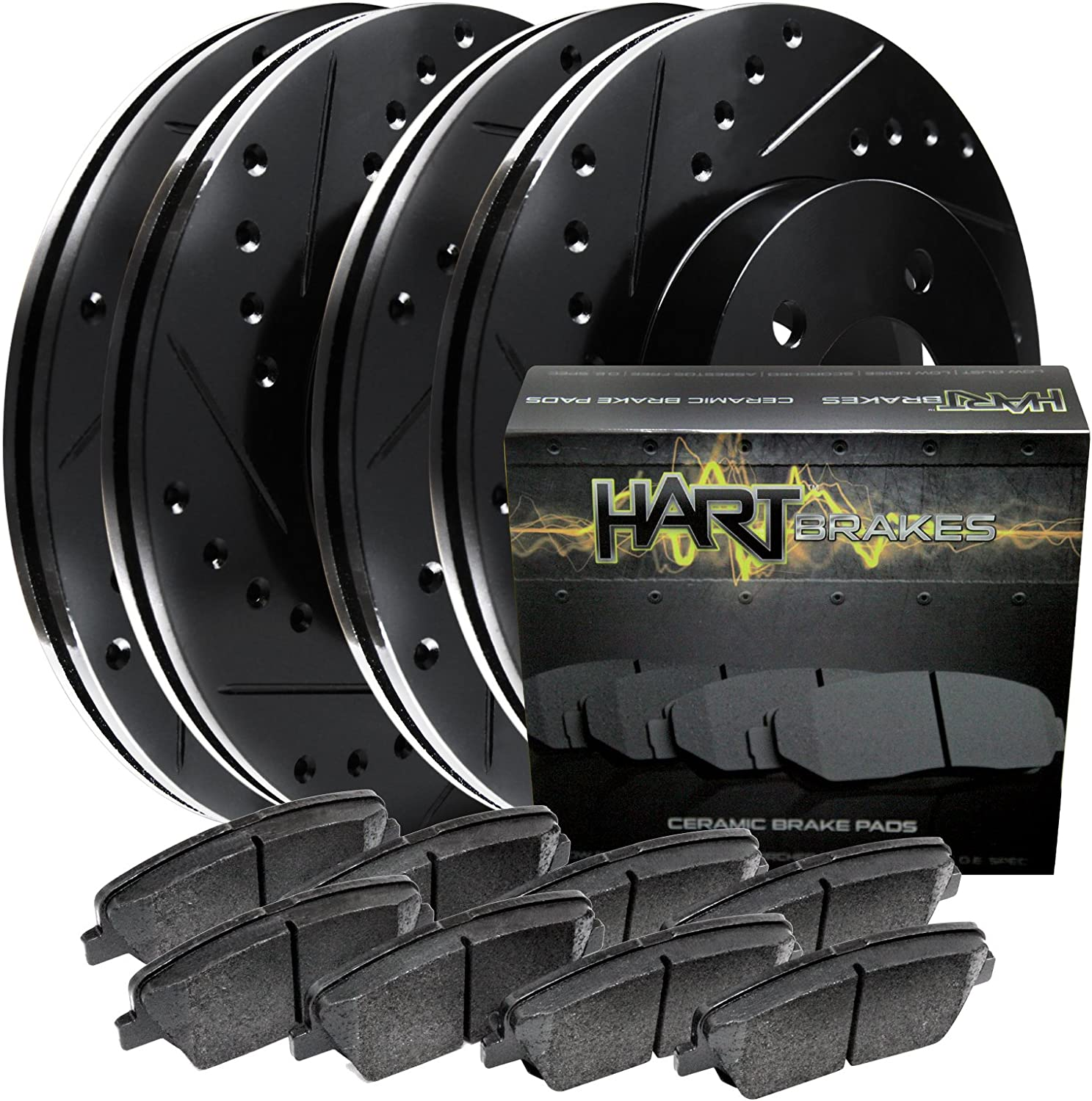Brake Rotors and Ceramic Pad BHCC.67069.02