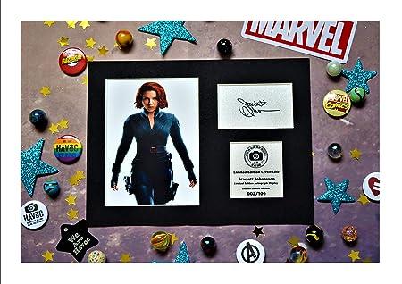 Robert Downey Jr Signed Mounted Photo Display Iron Man