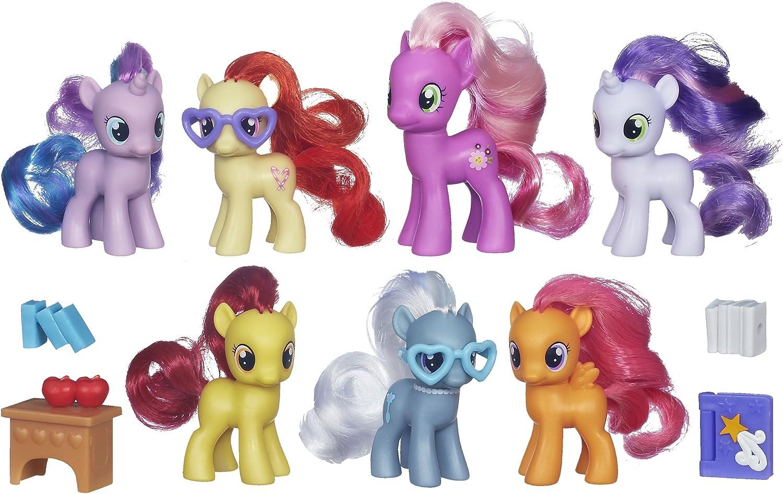 The Cutie Mark Crusaders CMC My Little Pony 3 x Egmont Figures