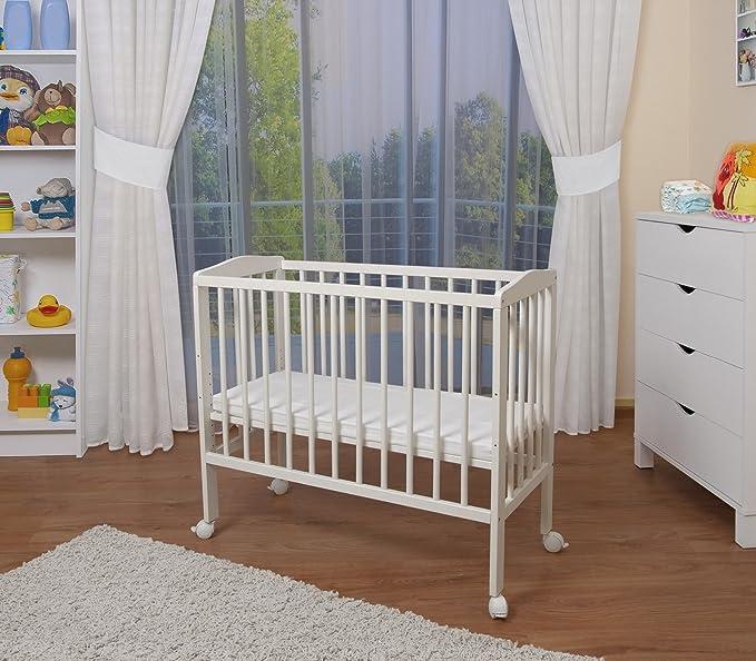 WALDIN Cuna colecho para bebé, cuna para bebé, altura regulable ...
